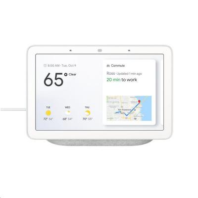 Google Home Hub Chalk - šedá
