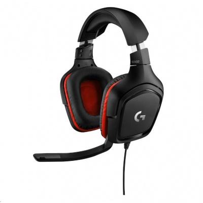Logitech herní sluchátka G332 Wired