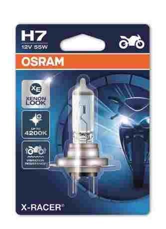 OSRAM motožárovka H7 MOTO X Racer 12V 55W PX26d (Blistr 1ks)