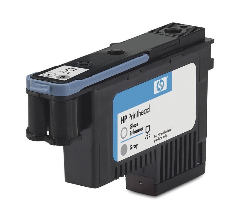 HP 70 Gloss enhancer + Grey DJ Printhead, C9410A