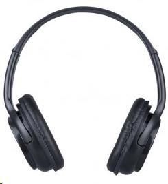 PLUS Bluetooth stereo sluchátka C6347, černá