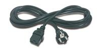 APC Power Cord C19 naar Schuko,2.4m,16A