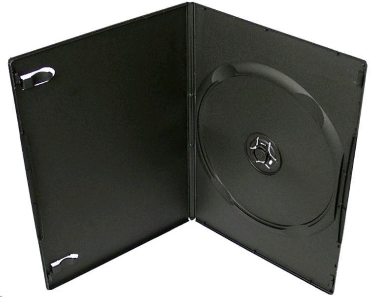 OEM Krabička na 1 DVD ultraslim 7mm černá (balení 100ks)