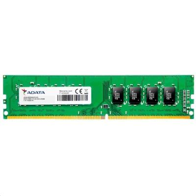 DIMM DDR4 8GB 2666MHz CL19 (KIT 2x4GB) ADATA Premier memory, 512x16, Dual