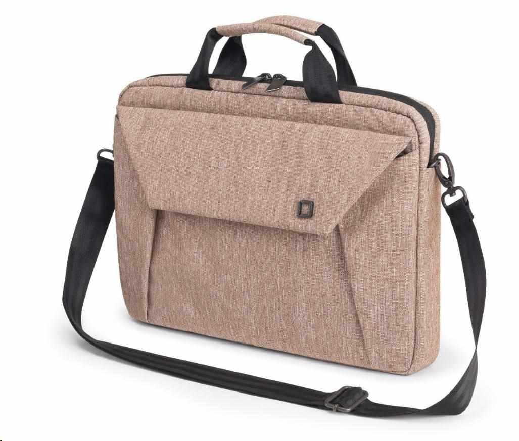 DICOTA Slim Case EDGE 14-15.6, sandstone