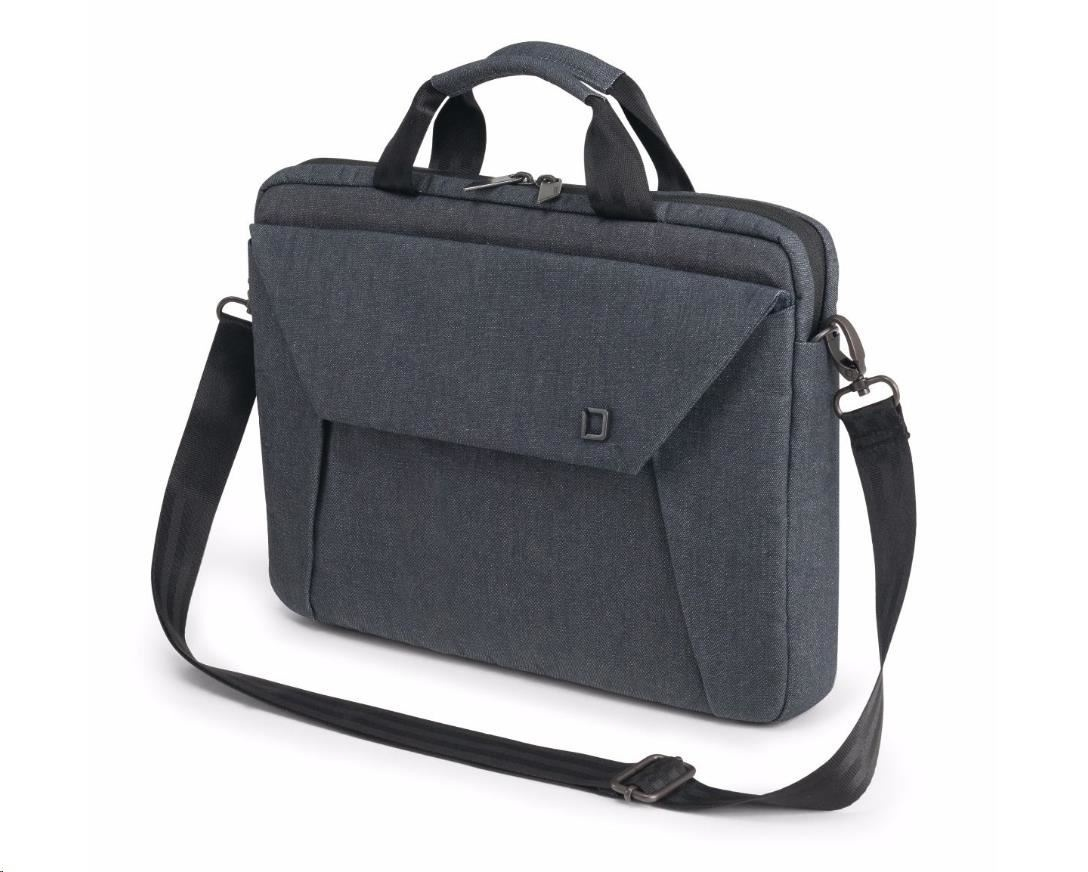 DICOTA Slim Case EDGE 14-15.6, blue denim