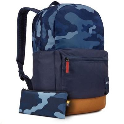 "Case Logic batoh Commence CCAM1116 pro notebook 15,6"", 24 l, modrý vzor"