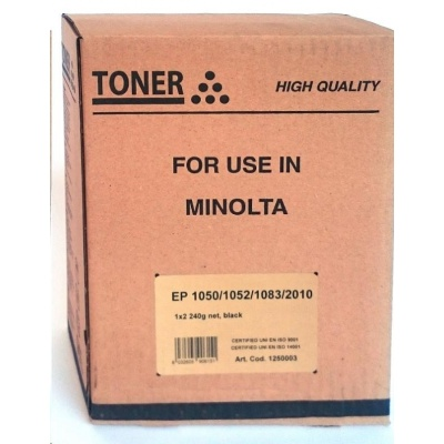 SPO toner pro Minolta EP 1052/1083/2010 Black, 2x240g (102B)(náhrad za 0CZ00324)