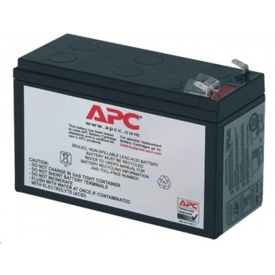 APC Replacement Battery Cartridge #2, BK250(400), BP280(420), SUVS420I, BK300, BK500, BE550, BH500INET