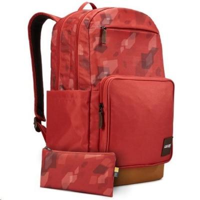 """Case Logic batoh Query CCAM4116 pro notebook 15,6"""" a tablet 10"""", 29 l, červený se vzorem"""