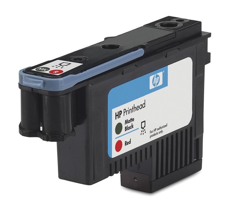 HP 70 Black matte + Red DJ Printhead, C9409A