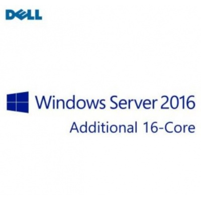 DELL Windows Server 2016 Standard Ed, Additional Lic,ROK,16CORE