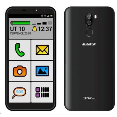 Aligator S5710 Duo Senior, 16 GB, černá