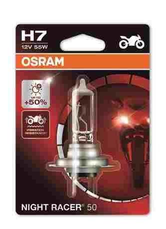 OSRAM motožárovka H7 MOTO Night Racer 50 12V 55W PX26d (Blistr 1ks)