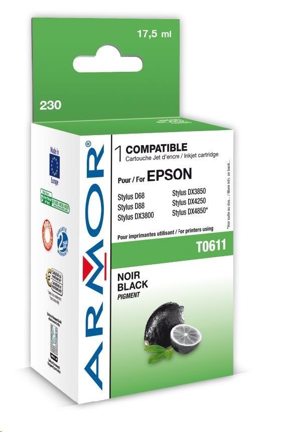 ARMOR cartridge pro EPSON Stylus D68/88/DX3800/4800 Black (T061140)