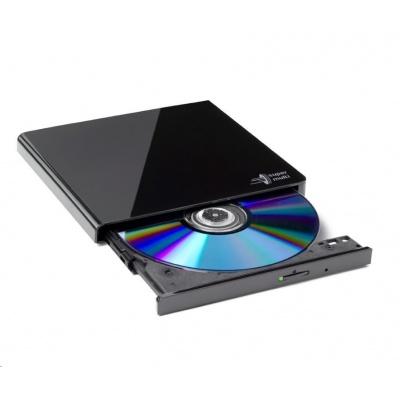 HITACHI LG - externí mechanika DVD-W/CD-RW/DVD±R/±RW/RAM GP57EB40, Slim, Black, box+SW