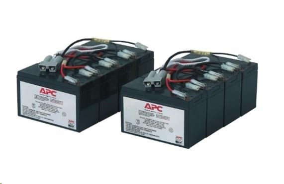 APC Replacement Battery Cartridge #12, SU2200RMI3U, SU3000RMI3U, SU5000INET, SU5000RMI5U