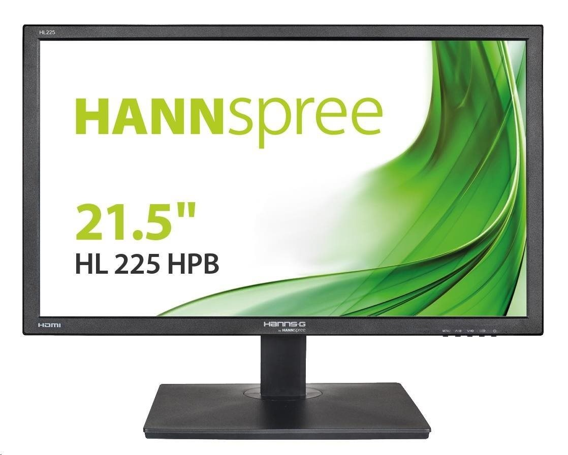 "HANNspree MT LCD HL225HPB 21,5"" 1920x1080, 16:9, 250cd/m2, 1000:1 / 10M:1, 5ms"