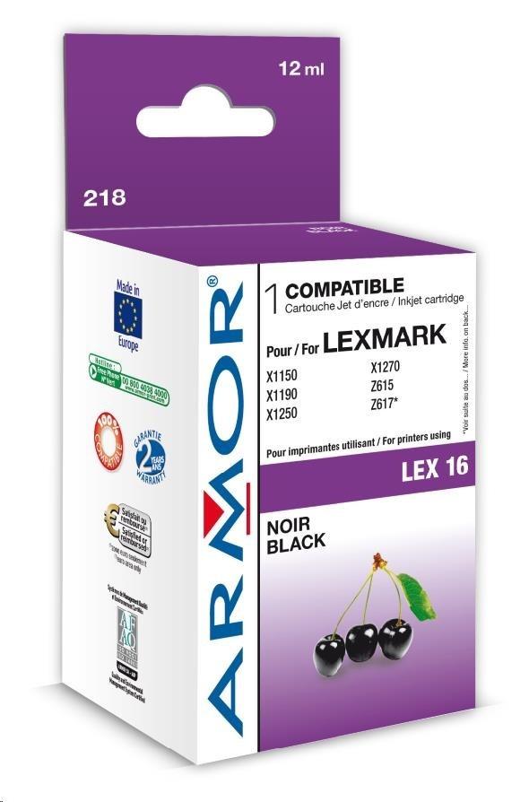 ARMOR cartridge pro Lexmark Z13/23/25/33/35 Black (10N0016)
