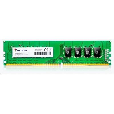 DIMM DDR4 8GB 2400MHz CL17 (KIT 2x4GB) ADATA Premier memory, 512x16, Dual