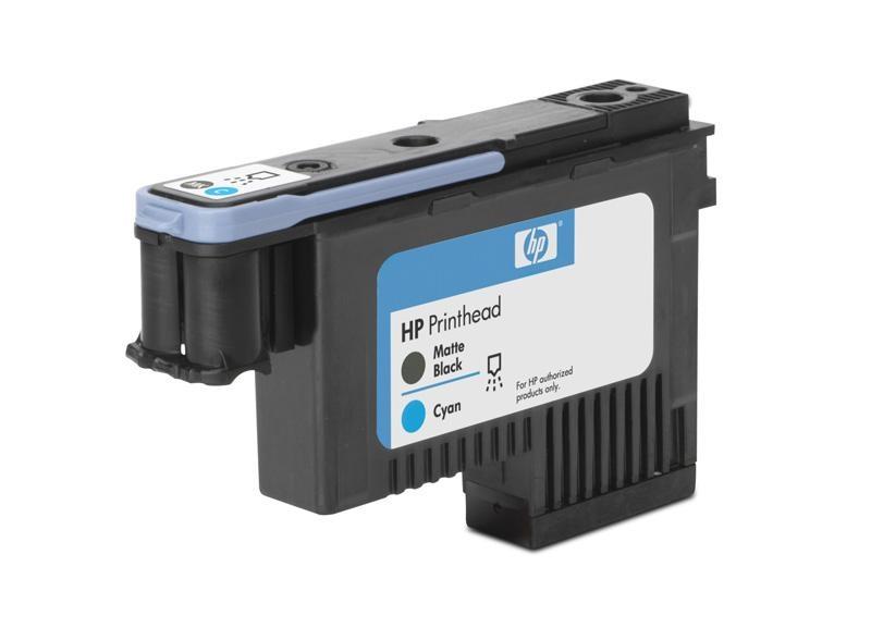 HP 91 Black matte + Cyan DJ Printhead, C9460A