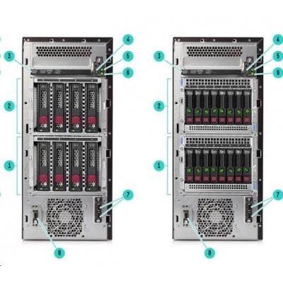 HPE PL ML110g10 4208 (2.1G/8C/11MB/2400) 1x16G S100i 4LFF-HP 500W noDVD T 4.5U NBD333
