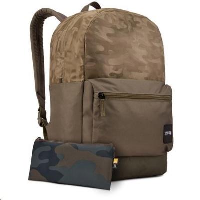Case Logic batoh Founder CCAM2126, 26 l, olivově hnědý se vzorem