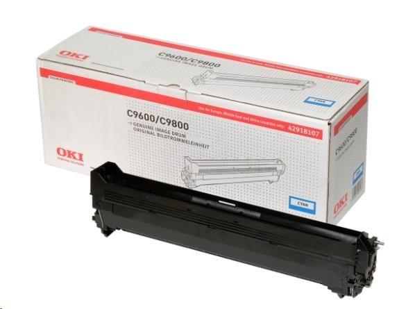 Oki Obraz. válec pro cyan toner do C9600/C9650/C9655//C9800/C9850/C9800MFP/C9850MFP (30k)