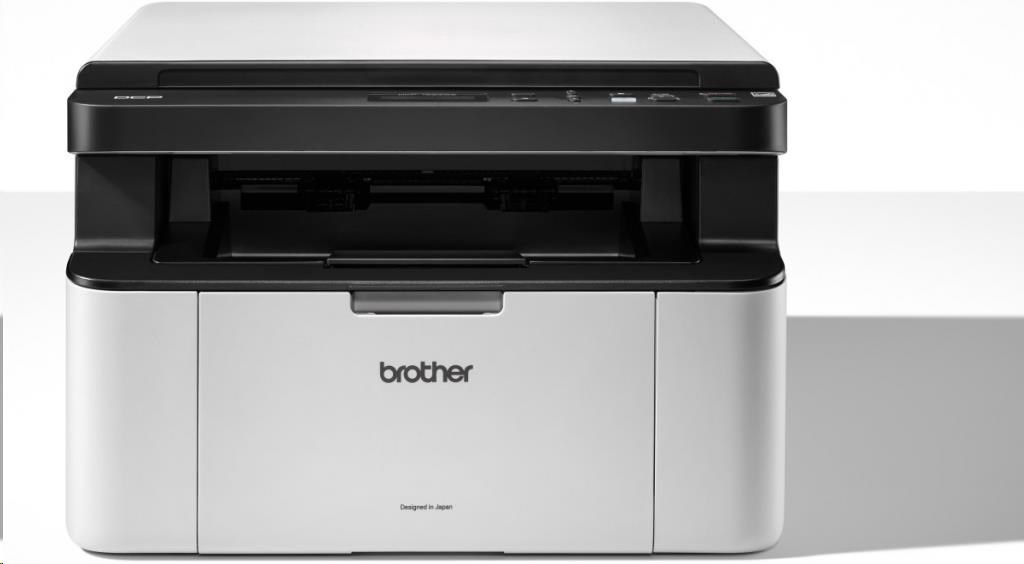 BROTHER multifunkce laserová DCP-1623WE A4, A4 sken, 20ppm, 32MB, 600x600copy, GDI, USB, WiFi