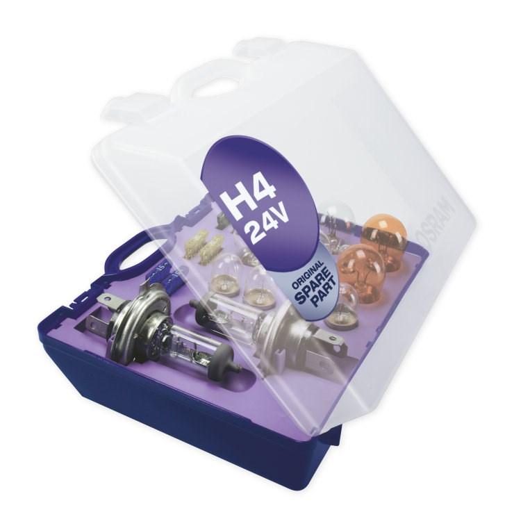 OSRAM Box s náhradami H4 24V (Eurobox)