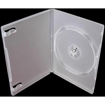 OEM Krabička na 1 DVD 14mm čirá (balení 100ks)