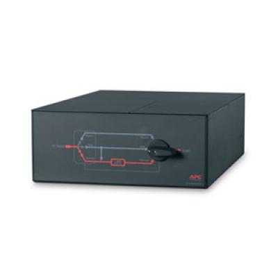 APC Service Bypass Panel- 230V,100A,MBB,Hardwire input,IEC-320 output- (8) C13 (2) C19