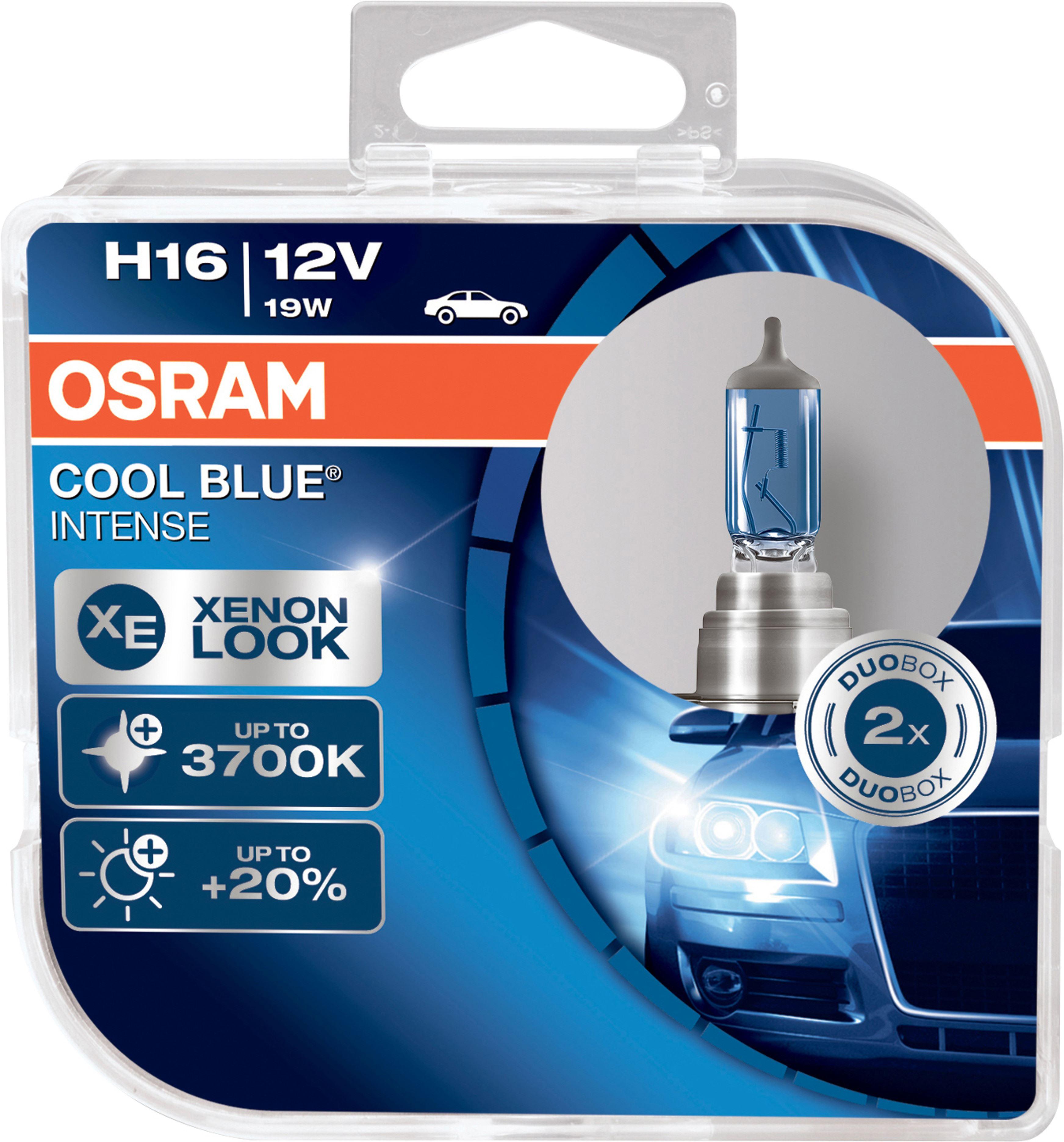 OSRAM autožárovka H16 COOL BLUE INTENSE 12V 19W PGJ19-3 (Duo-Box)