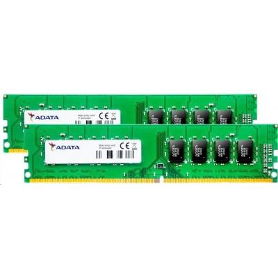 DIMM DDR4 16GB 2400MHz CL17 (KIT 2x8GB) ADATA Premier memory, 1024x8, Dual