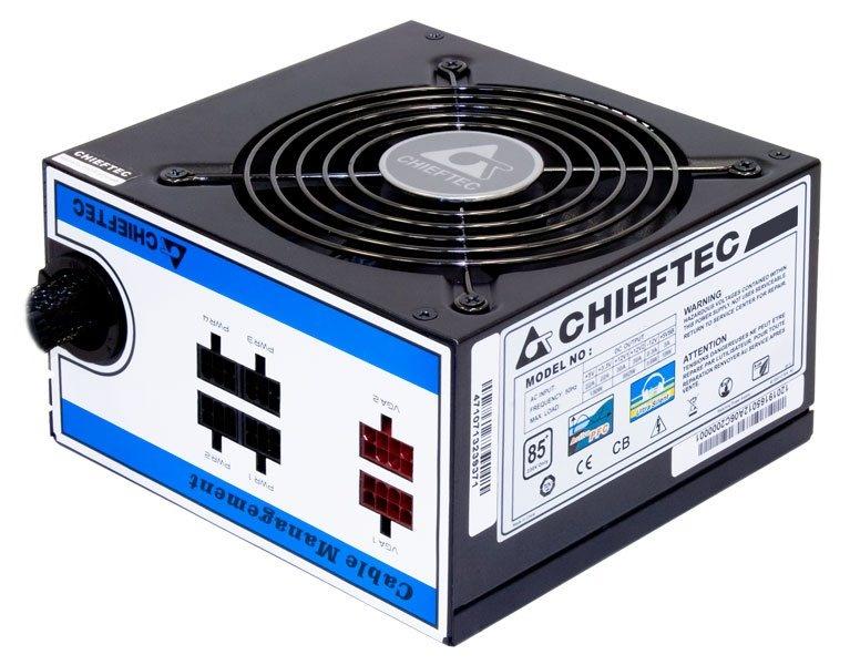 CHIEFTEC zdroj A80 Series, CTG-550C, 550W, 12cm fan, Active PFC, Modular, Retail, 85+