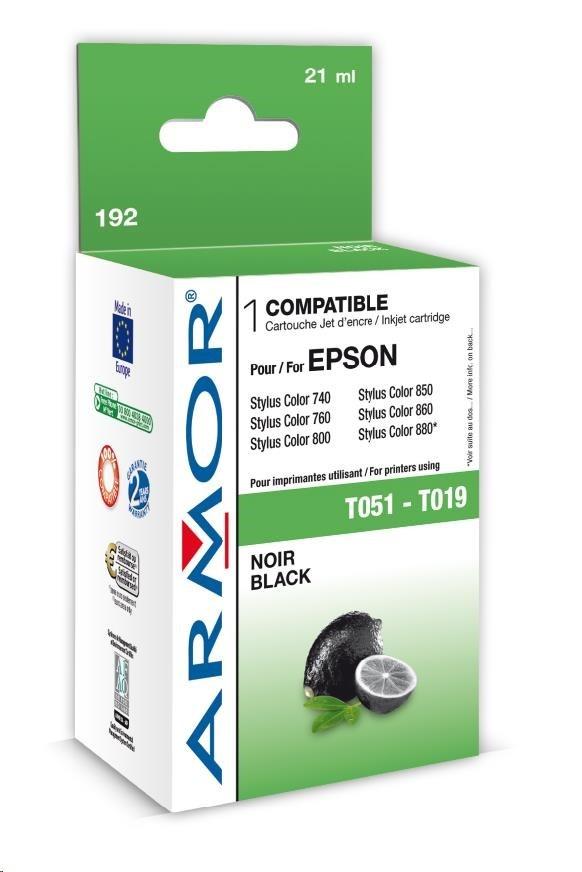 ARMOR cartridge pro EPSON Stylus Color 740/760/860/1160/1520 Black (T051140,S020108)
