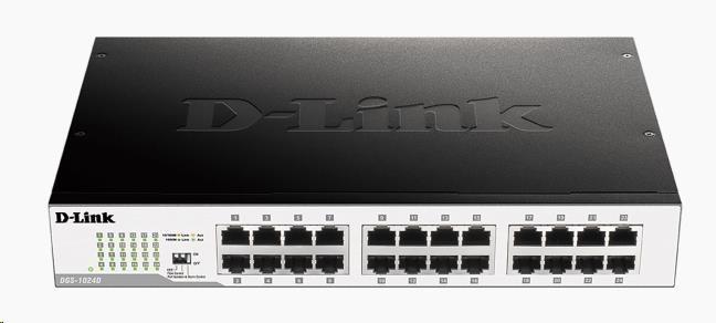 D-Link DGS-1024D 24-port 10/100/1000 Gigabit Desktop / Rackmount Switch
