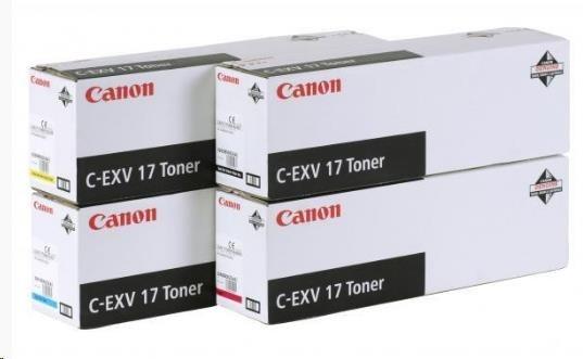Canon Toner C-EXV 17 Cyan (IRC4580/4080/5185 series)