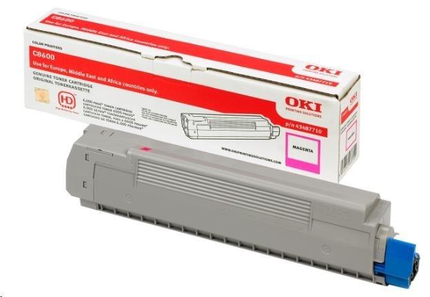 Oki Toner Magenta do C8600 (6.000 stránek)