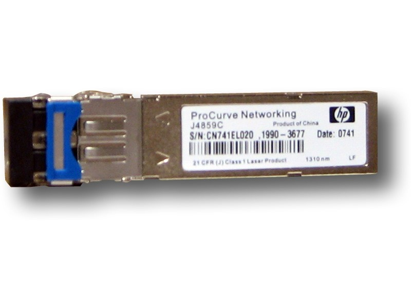 HPE X121 1G SFP LC LX Transceiver