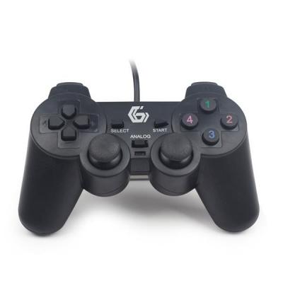 GEMBIRD gamepad JPD-UDV-01, vibrační, USB